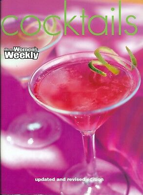 Women's Weekly - COCKTAIL GUIDE UP-DATED & REVISED ED - SC - VG to LIKE NEW COND