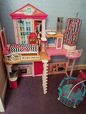 Complete Barbie Home/house Set with pool