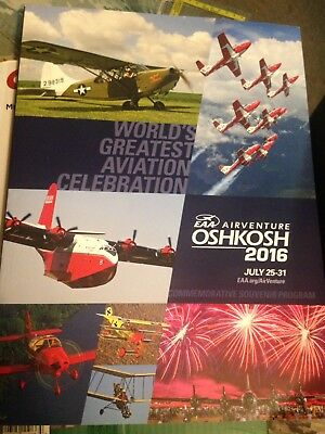 Oshkosh 2016 Commemorative Souvenir Program