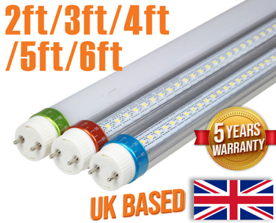 LED T8 tube light 8ft 240cm direct replacement warm/natural/cool white.