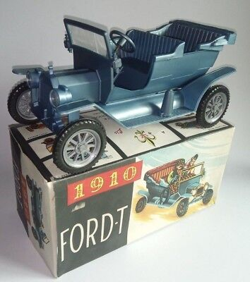 Old  FORD T Model 1910 Plastic Toy Car Baquelite Liz Made in Portugal 1960´ s