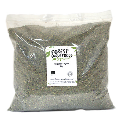 Forest Whole Foods - Organic Dried Thyme 10kg