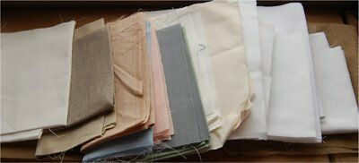 Large Collection Of Aida Fabric And Linen For Tapestry And Cross Stitch