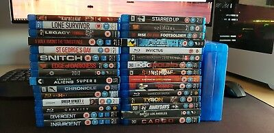 Job Jot Of Blu Ray Movies - Justice League, Avengers etc...... ALL LISTED