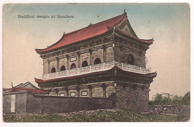 c1908 BUDDHIST TEMPLE AT SOOCHOW - SHANGHAI