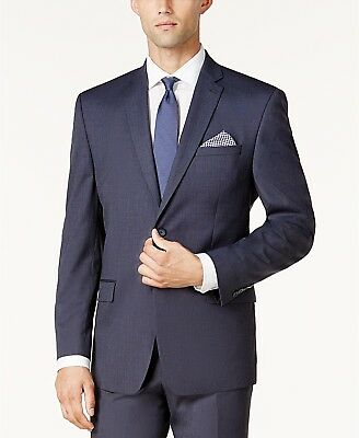 05b0b28de5f  300 MARC NEW YORK Men CLASSIC FIT BLUE BLAZER BUTTON SPORT COAT SUIT JACKET  38R