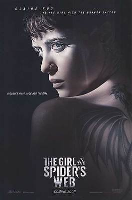 The Girl in the Spider's Web Adv Coming Soon Dbl Sided Orig Movie Poster 27x40