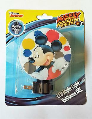 Disney Mickey Mouse and the Roadster Racers LED Night Light