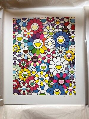 Takashi Murakami. Flowers on the Island Closest to Heaven. Kaikai Kiki. Ltd Ed.