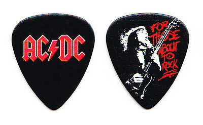 AC/DC Angus Young For Those About To Rock Promo Guitar Pick