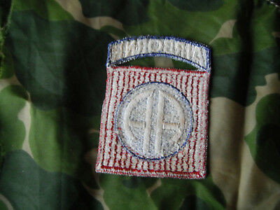 WW2 AIRBORNE 504th PARACHUTE INF REGT Officer EARLY 82nd PATCH From NAMED GROUP