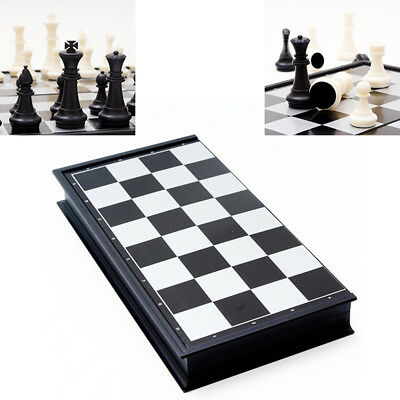BL_ Magnetic Travel Chess Set Folding Board Kids Educational Toy Family Game tal
