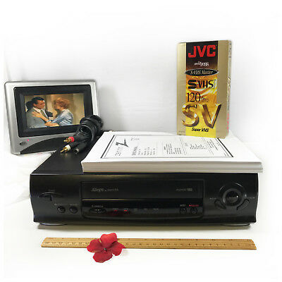 Allegro by Zenith ALG4010 VCR Video Cassette Recorder Player