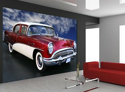 The American Car  Photo Wallpaper GIANT DECOR Paper Poster Free Paste