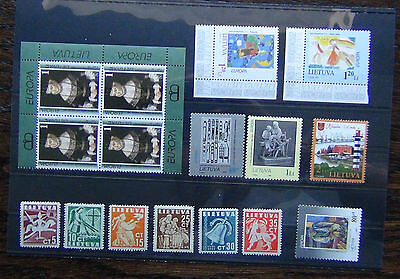 Lithuania 1940 Liberty 1993 1994 1995 1996 1997 Europa 2012 Lighthouses MNH