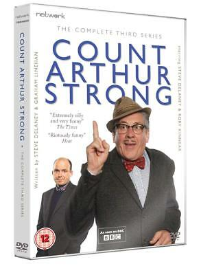 COUNT ARTHUR STRONG the complete third series 3. Two discs. New sealed DVD.