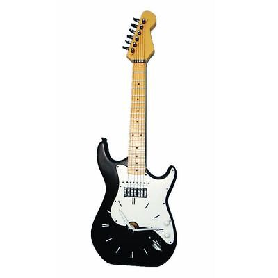Hot House Designs Electric Fender Guitar Shaped Wall Clock