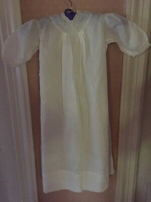 Antique Baby Christening Gown Original Bouttons
