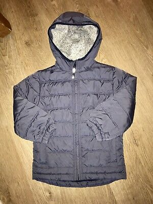 Boys MINI BODEN hooded Quilted Immaculate Coat Jacket 5-6 Years 🖤