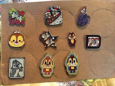 10 Pin Chip And Dale Lot