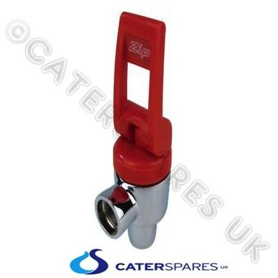 Genuine Zip 90502Uk Hydroboil Hot Water Boiler Tap Assy Complete Red Handle