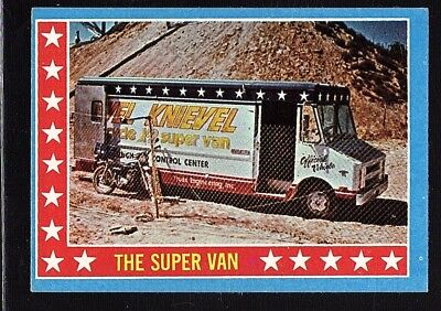 Evel Knievel 1974 Topps Test Issue Card #12