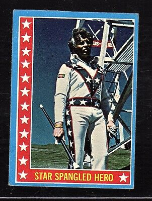 Evel Knievel 1974 Topps Test Issue Card #35
