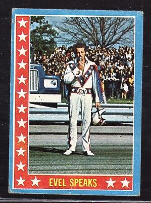 Evel Knievel 1974 Topps Test Issue Card #11