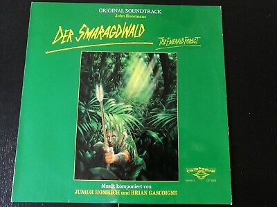 Soundtrack - Der Smaragdwald  Junior Homrich - Brian Gascoigne - Rare - Germany