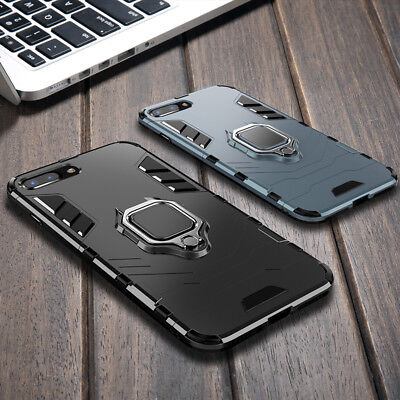 Hybrid Heavy Duty Kickstand Shockproof Rugged Hard Phone Case Cover Fr iPhone XS