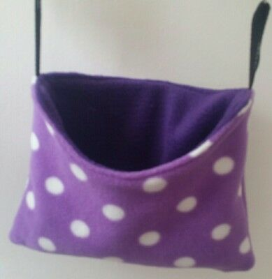 guinea pig /pigmy hedgehog peek a boo hanging pouch