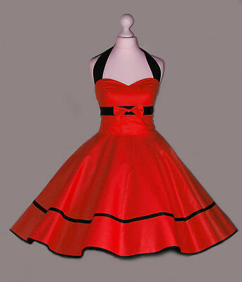 BJD 1/4 MSD MINIFEE size Pin up dress Red Doll clothes outfit