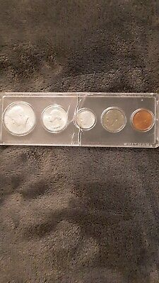 1964 Proof Set In Snap Tight Display Case 90% Silver CaseDamaged