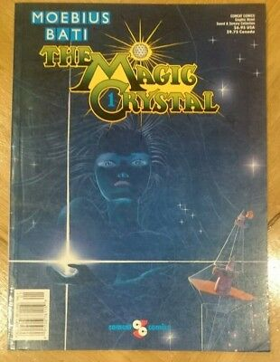 Magic Crystal 1 | 1st edition by Comcat 1989 Moebius & Bati | Like New Condition