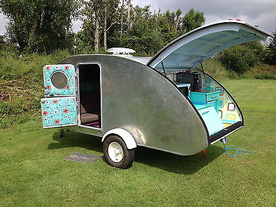Step By Step Build A Teardrop Camper Caravan Trailer plans  1200 pages On CD