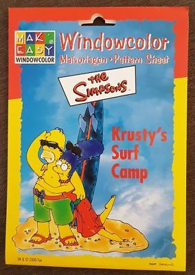 Mak Easy Windowcolor - the Simpsons - Krusty`s Surf Camp