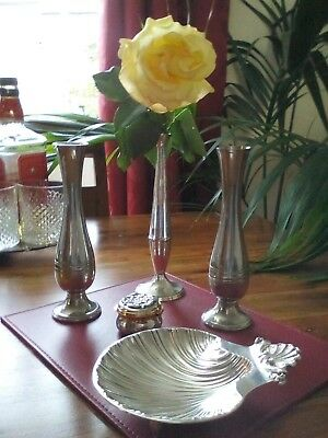 A Vintage Silver Plated Job Lot & Pewter