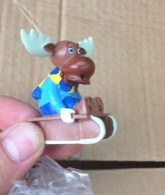 Almost 400 Piece Joblot Party Bag Market Stall Stock 6cm  Ikea Moose Toy Figure