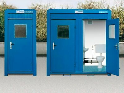 New Portable WC toilet units site office . (This listing is the DOUBLE)