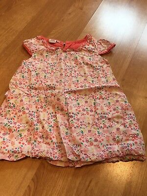 Beautiful Baby Girls Pastel 12-18 Months TED BAKER Floral Dress