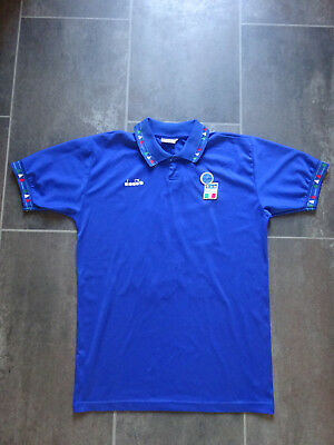 Italy Home 1992 Used (Vintage) Shirt / Jersey Size M