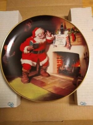 The Pause That Refreshes Coca-Cola Franklin Mint  Collector Plate 1993