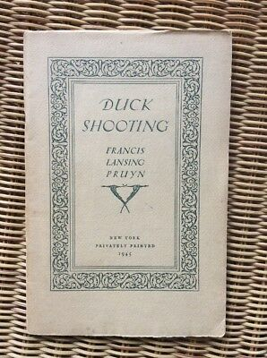 Extremely Rare Duck Shooting Booklet