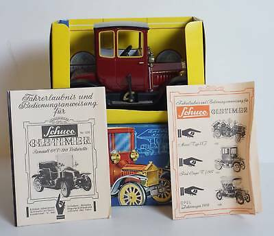 Original SCHUCO 1227 Ford Coupe T 1917 Oldtimer Blech Modell Auto in OVP