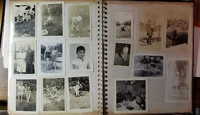 AMERICANA COLLECTION FAMILY PHOTOS 1940's to 1960's 100 PHOTOGRAPHS B/W PORTRAIT