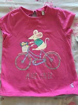 Joules Girls T-shirt Age 5