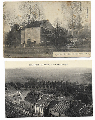 lot 2 CPA  Hte MARNE / CLEFMONT/ ANIMEES
