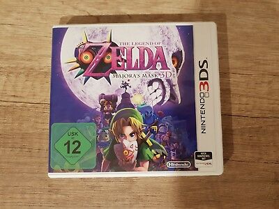 The Legend of Zelda Majora's Mask Nintendo 3DS