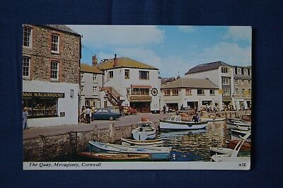 8 Postcards of Cornwall, 1960s/70s.