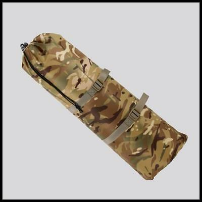 British Mtp Camo Waterproof Roll Matt Sack  Rucksack Accessory